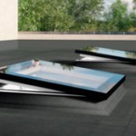 Windows for flat roof