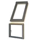 L-shape combination window
