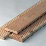 Grooved Wood Boards