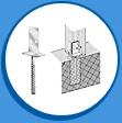 Стъпка за бетониране Т-образна